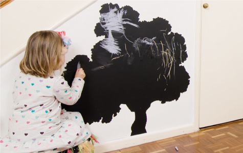 Vinyl chalkboard wall stickers for kids rooms