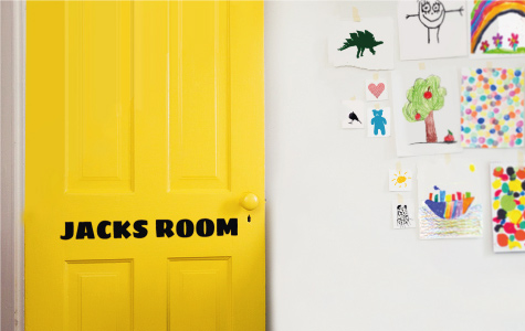 vinyl name wall stickers for kids rooms