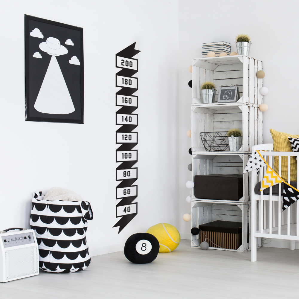 monochrome nursery ideas
