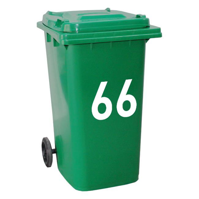 Vinyl numbers for dustbin