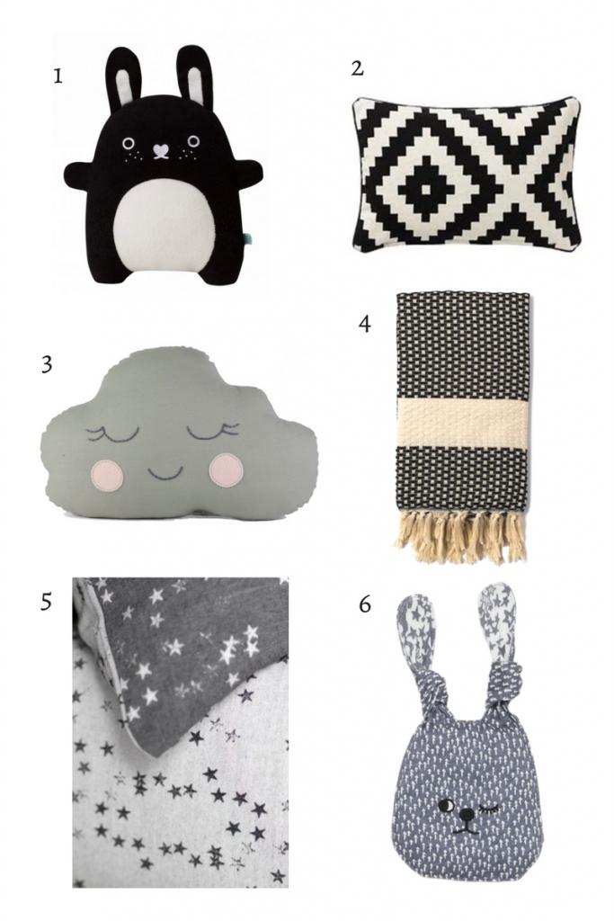 Modern nursery accessories