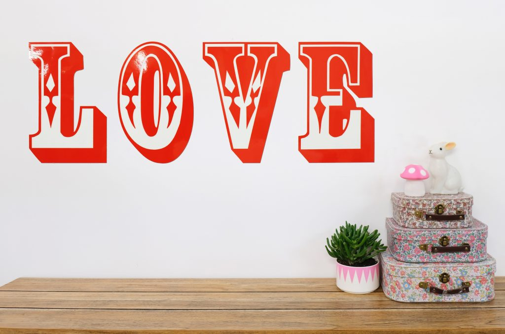 Love Wall stickers Decal
