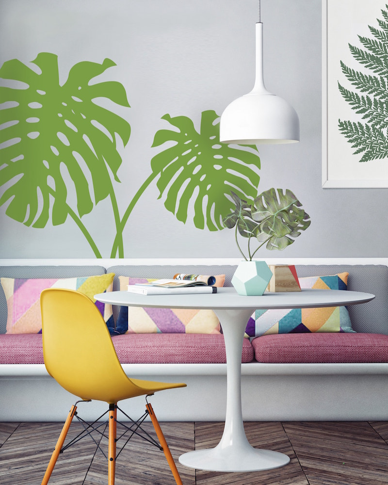 Cheese plant Tree wall sticker
