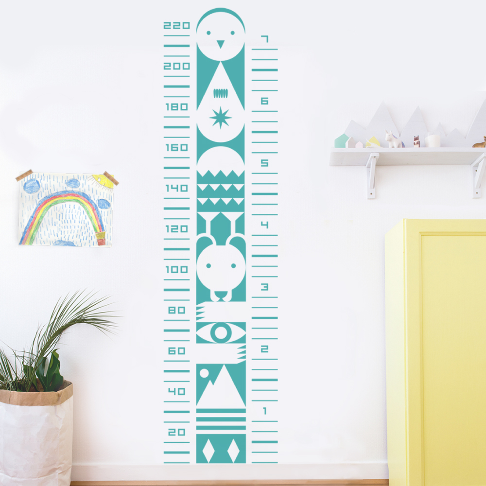 vinyl for kids height chart child's playroom