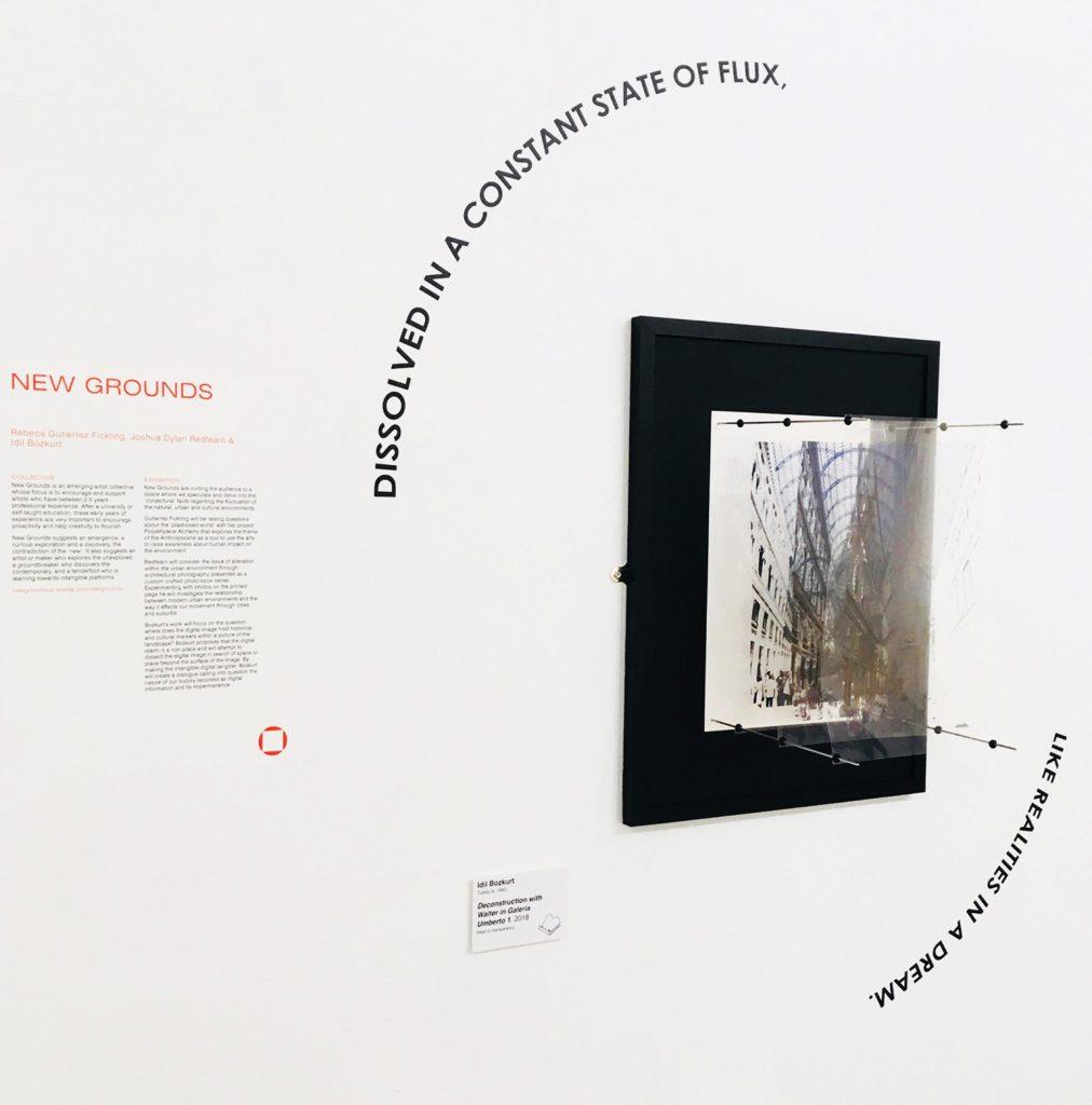 vinyl text exhibition gallery