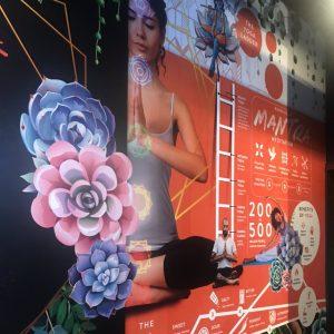 printed wall mural