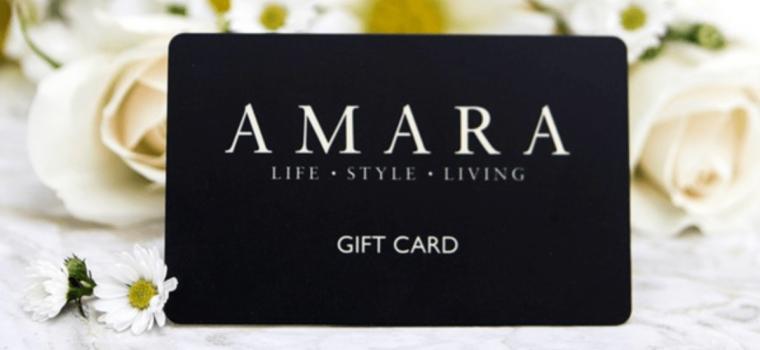 Win a £250 Amara Gift Voucher