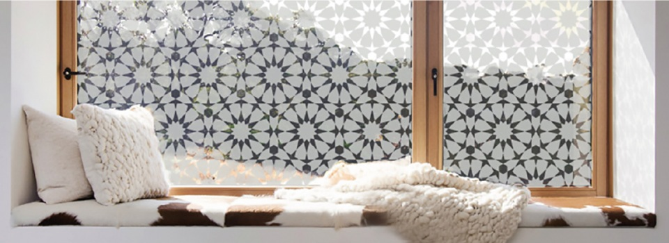 5 Easy frosted window film decorating ideas