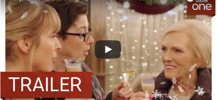 Inkmill Vinyl helps with a Special Christmas Gift from GBBO's Mary Berry, Mel and Sue.