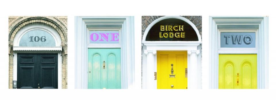 Fanlight Door Numbers & House Names