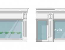 12 Vinyl Decal Designs for shop windows